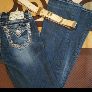 Miss Me Jeans Size 26/32 boot cut mid